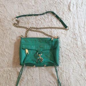 Green crossbody purse REBECCA MINKOFF